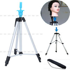 "55"" Cosmetology Mannequin Tripod For Training Head Doll Stand Holder + Carry Bag"