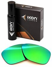 Polarized IKON Replacement Lenses For Oakley Breadbox Sunglasses Emerald Green