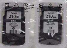 Genuine Canon 2-Pack 2 PG-210XL Black Cartridges