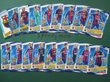 Topps Champions League 2016 17 all 18 Real Madrid Team Cards Logo Goal King