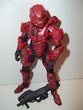 Halo 4 Series 1 ***RED SPARTAN WARRIOR*** McFarlane 100% Complete w/ Gun!!