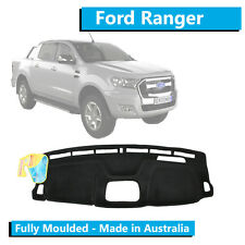 Ford Ranger PX 2 (2015-Current) - Dash Mat - Black - Moulded - With Tech Pack