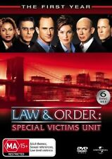 Law And Order - Special Victims Unit : Season 1 (DVD, 2007, 6-Disc Set)