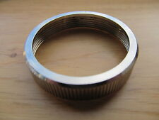 29/041 AMAL pre MONOBLOC 289 CARB TOP CAP CHROME RING BSA TRIUMPH NORTON AJS