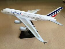 20CM Solid AIR  FRANCE AIRBUS A380 Passenger Airplane Plane Metal Diecast Model