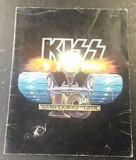"KISS - 10th ANNIVERSARY TOUR PROGRAM 11"" x 14"""