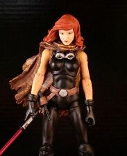 CUSTOM REBEL MARVEL LEGENDS VII FIRST ORDER STAR WARS BLACK SERIES MARA JADE 6""