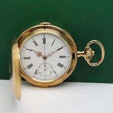 MATHEY TISSOT & Co. QUARTER REPEATER CHRONOGRAPH 18K ROSE GOLD POCKET WATCH