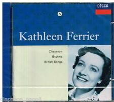 Kathleen Ferrier Edition Vol. 5 - Chausson, Brahms, Rubbra - CD