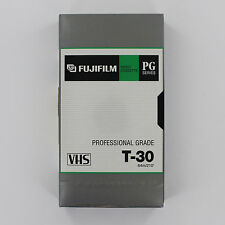 VHS T-30 Fuji Professiona Grade VHS Tapes