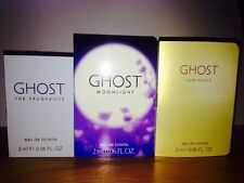 GHOST MOONLIGHT, THE FRAGRANCE AND LUMINOUS X 3 2ML