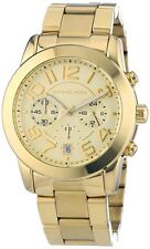 MICHAEL KORS MK5726 LADIES GOLD TONE MERCER RUNWAY BRACLET CHRONOGRAPH WATCH
