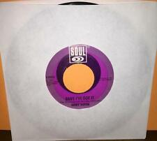 (45) JIMMY RUFFIN - BABY I'VE GOT IT / WHAT BECOMES BROKENHEARTED (SOUL 35022)