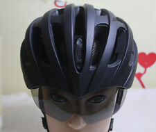 JAVA Bicycle Cycling Helmet With UV Goggles Glasses Adjustable L57-62cm Black
