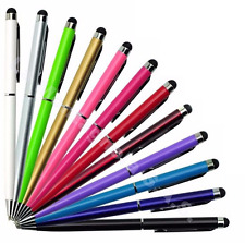 1 Penna pennino capacitivo TOUCH Smartphone Tablet Stylus IPHONE SAMSUNG IPAD