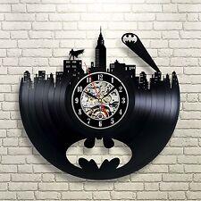DC COMICS ARKHAM ORIGINS BATMAN ACTION FIGURE DARK KNIGHT SERIES VINYL CLOCK