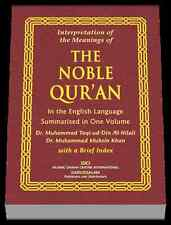 The Meaning of The Noble Qur'an (Dr. Al-Hilali and Dr. Muhsin Khan)