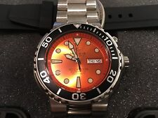 Deep Blue Sun Diver 3 1000m Orange w/ black bezel Scuba Automatic