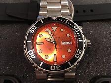 Deep Blue Sun Diver 3 1000m Orange w/ black bezel Scuba Automatic