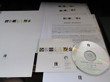 Genesis Turn It on Again EU Promo Sampler CD Press Release Kit Phill Collins