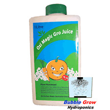 GRO JUICE 1L ORGANIC HYDROPONIC NUTRIENTS OZI MAGIC GROW GROWING NUTRIENT