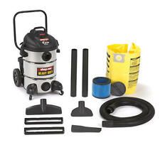 New Shop-Vac Heavy Duty 12 Gallon 6.5 HP Stainless Steel Wet/Dry Vacuum  Blower