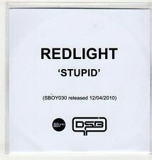 (EV630) Redlight, Stupid - 2010 DJ CD