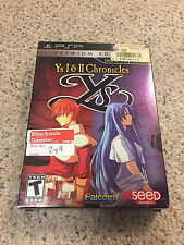 Ys I & II Chronicles: Premium Edition, NO GAME, SONY PSP Playstation Portable