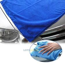 Home Car Synthetic Chamois Leather Clean Dry Washing Wipe Cloth Towel Magic Blue