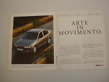 advertising Pubblicità 1996 OPEL VECTRA