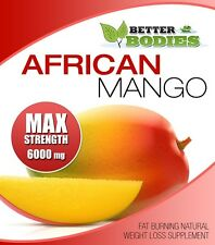 AFRICAN MANGO MAX 6000mg STRONG STRENGTH WEIGHT LOSS DIET 90 SLIMMING PILLS