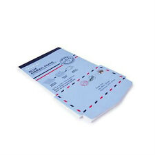 Mailblok MAIL BLOK Blue Airmail Paper + Envelope in one write, fold, mail
