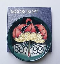 Moorcroft Pottery Centenary Dish - Boxed - Made in England