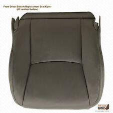 2007 2008 2009 LEXUS GX470 Driver Side Bottom Leather Seat Cover Color Dark Gray
