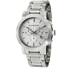 Burberry Large Check Chronograph Mens Watch BU9350 NEW