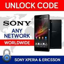 UNLOCK CODES FOR SONY XPERIA J E SP T U Z TIPO MIRO & ALL SONY ERICSSON MODELS