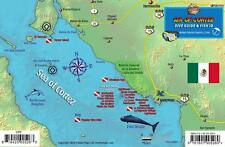 Central Sea of Cortez San Carlos Dive Map & Fish Card Waterproof by Franko Maps
