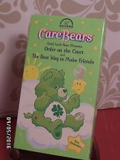 "Care Bears ""Order on the Court"" & ""The Best Way to Make Friends"" VHS"