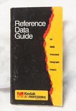 Vintage Kodak Reference Data Guide tthc
