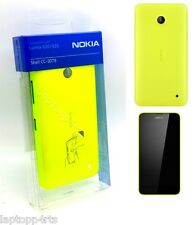 100% ORIGINALE NOKIA Cc-3079 Shell Case Cover per Lumia 630 e 635-GIALLO NUOVO