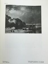 Antique Print MUNDESLEY NORFOLK Oil Painting ROBERT LADBROKE NORWICH SCHOOL