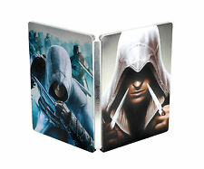 UNIQUE ASSASSIN'S CREED EZIO TRILOGY STEELBOOK G1 - sealed - VERY RARE!!!