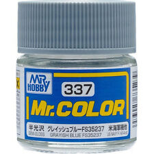 GSI CREOS GUNZE MR HOBBY Color C337 Grayish Blue FS35237 LACQUER PAINT 10ml NEW