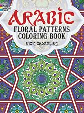 Adult Coloring Books Arabic Floral Patterns Painting Art Design Stress -Relaxing
