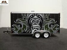 Greenlight Gas Monkey Garage Enclosed Car Hauler 1:64 OPEN ITEM 100% Mint