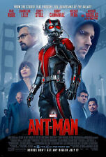 ANT-MAN MOVIE POSTER 2 Sided ORIGINAL FINAL 27x40 PAUL RUDD EVANGELINE LILLY