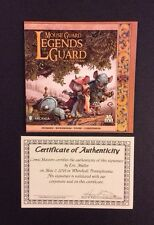 MOUSE GUARD: LEGENDS OF THE GUARD Vol. 3 #1 Variant SIGNED Eric Muller NM COA