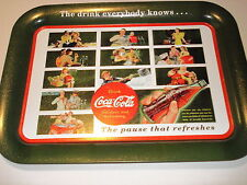 "COCA-COLA 2003 ""THE PAUSE THAT REFRESHES""  NEW METAL TRAY"