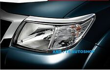 CHROME FRONT HEAD LIGHT LAMP COVER TRIM FOR NEW TOYOTA HILUX VIGO CHAMP 2012 V4