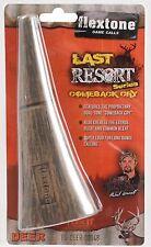 Flextone Last Resort Deer Hunting Call - Super Loud Long Range Doe Bleat